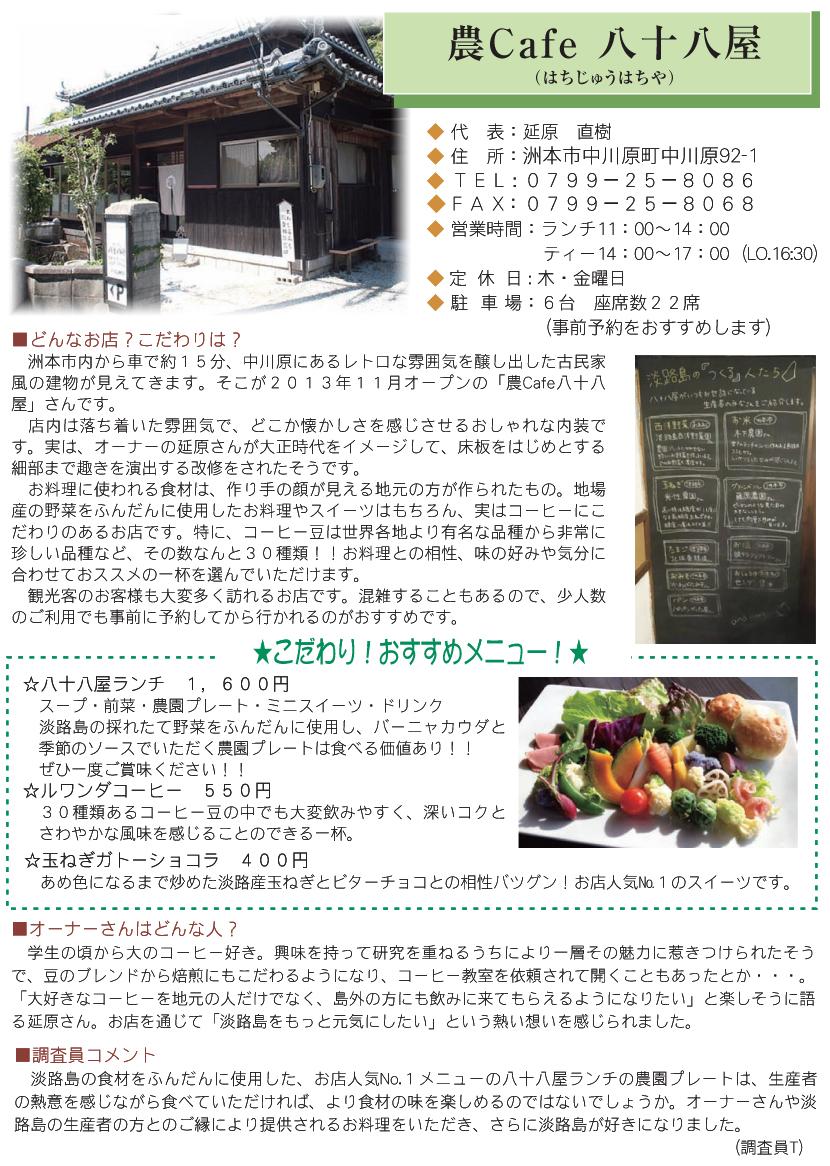 農Cafe 八十八屋